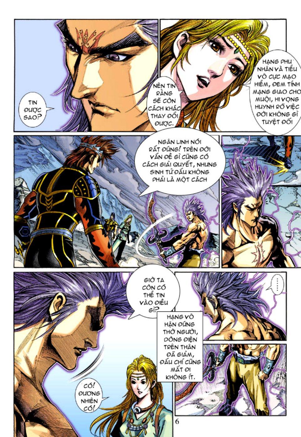 Thiên Tử Truyền Kỳ 5 - Như Lai Thần Chưởng chap 212 - Trang 6