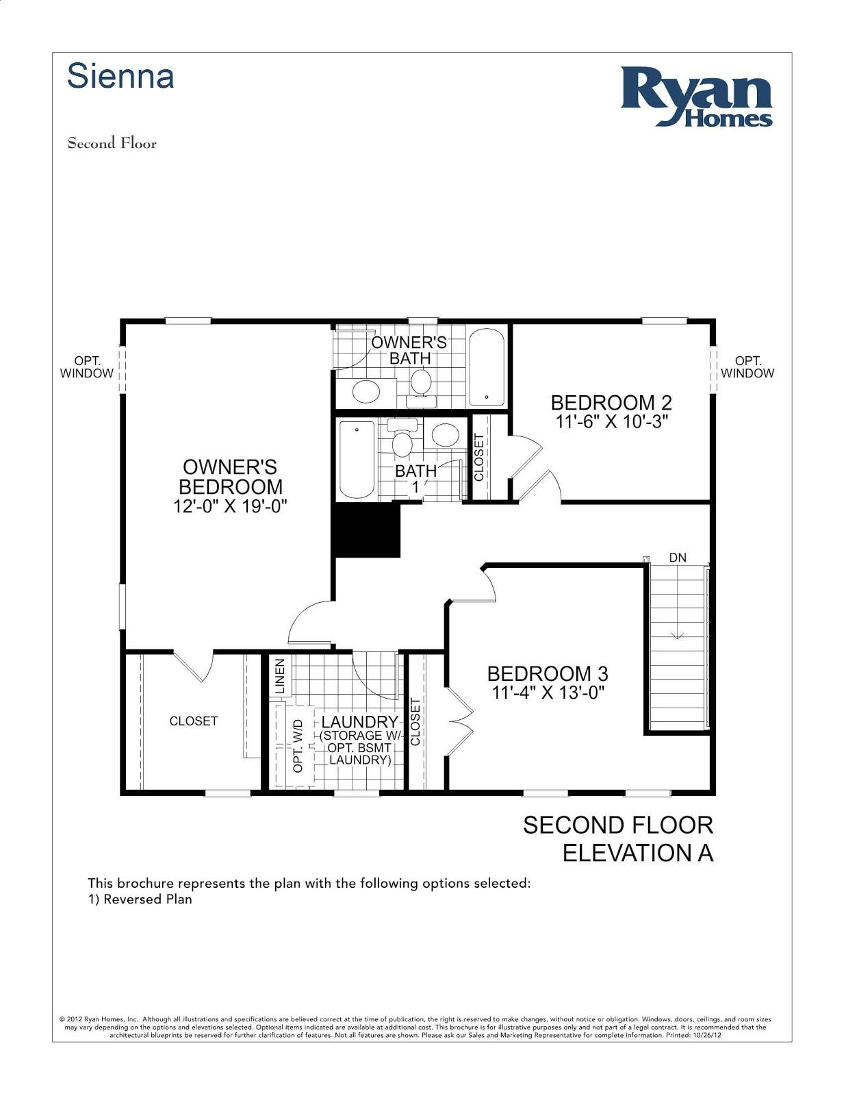 bainbridge ryan homes floor plan home decor ideas
