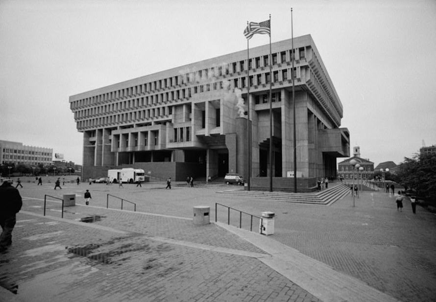 Mockitecture Boston City Hall A Brutalist Icon