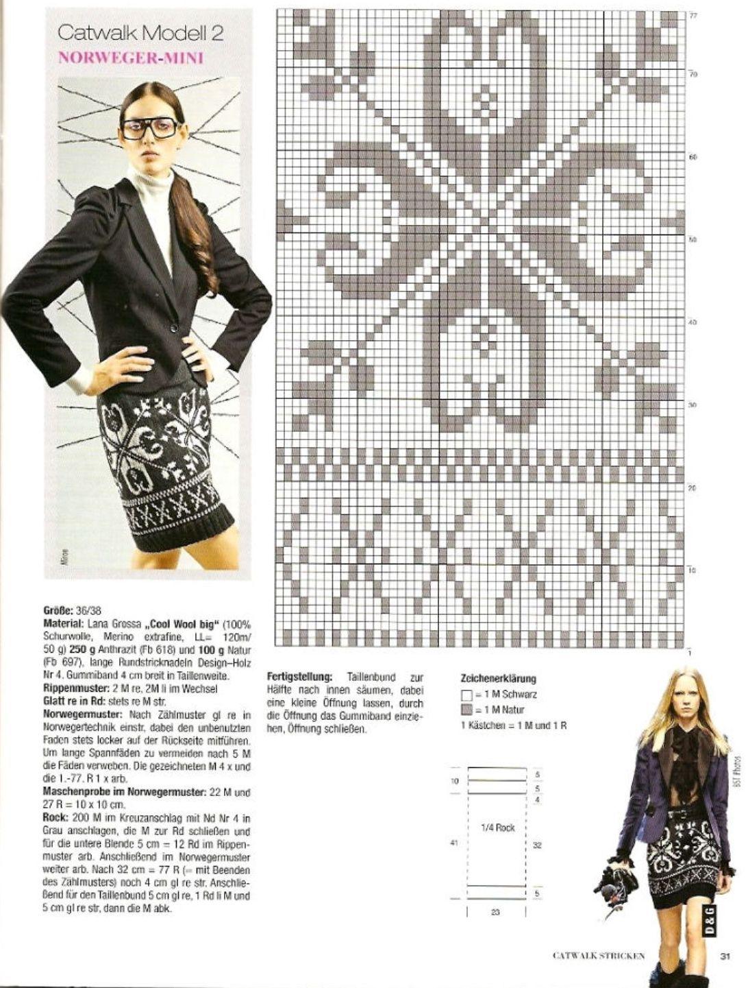 Образцы для вязания юбок