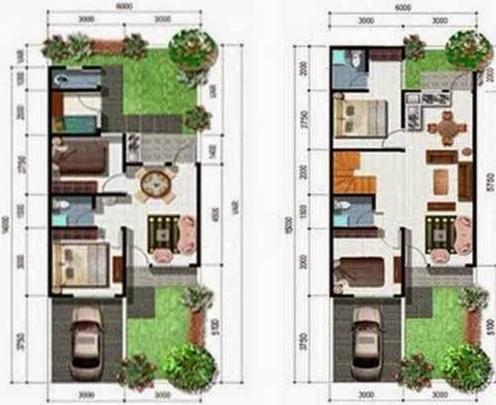 rumah minimalis empat kamar