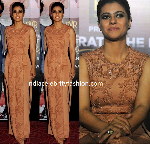 Kajol in Pankaj & Nidhi Dress