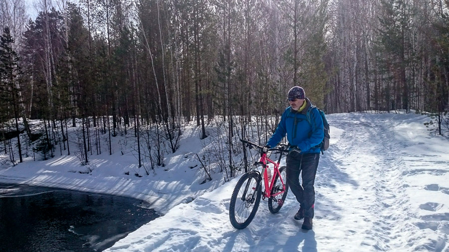 И снова Юрма! Теперь зимой.
