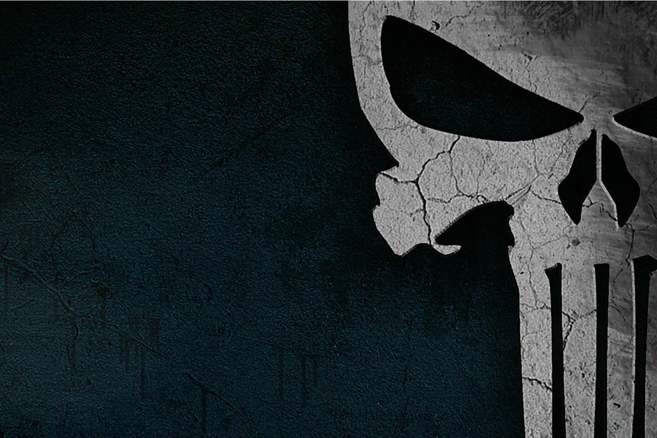 The Punisher Skull Wallpaper Background Marvel Comic Book Game Image Picture
