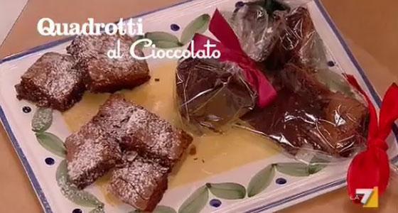 Quadrotti al Cioccolato di Benedetta Parodi
