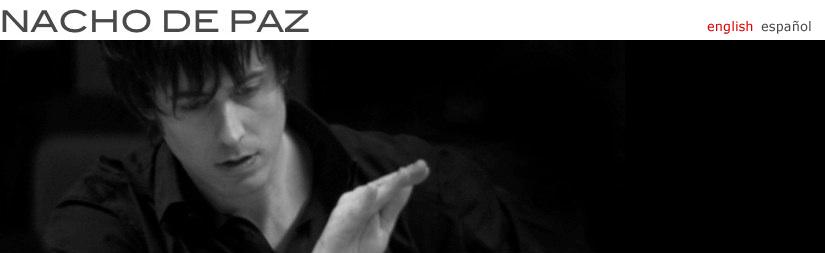 NACHO DE PAZ - news // english