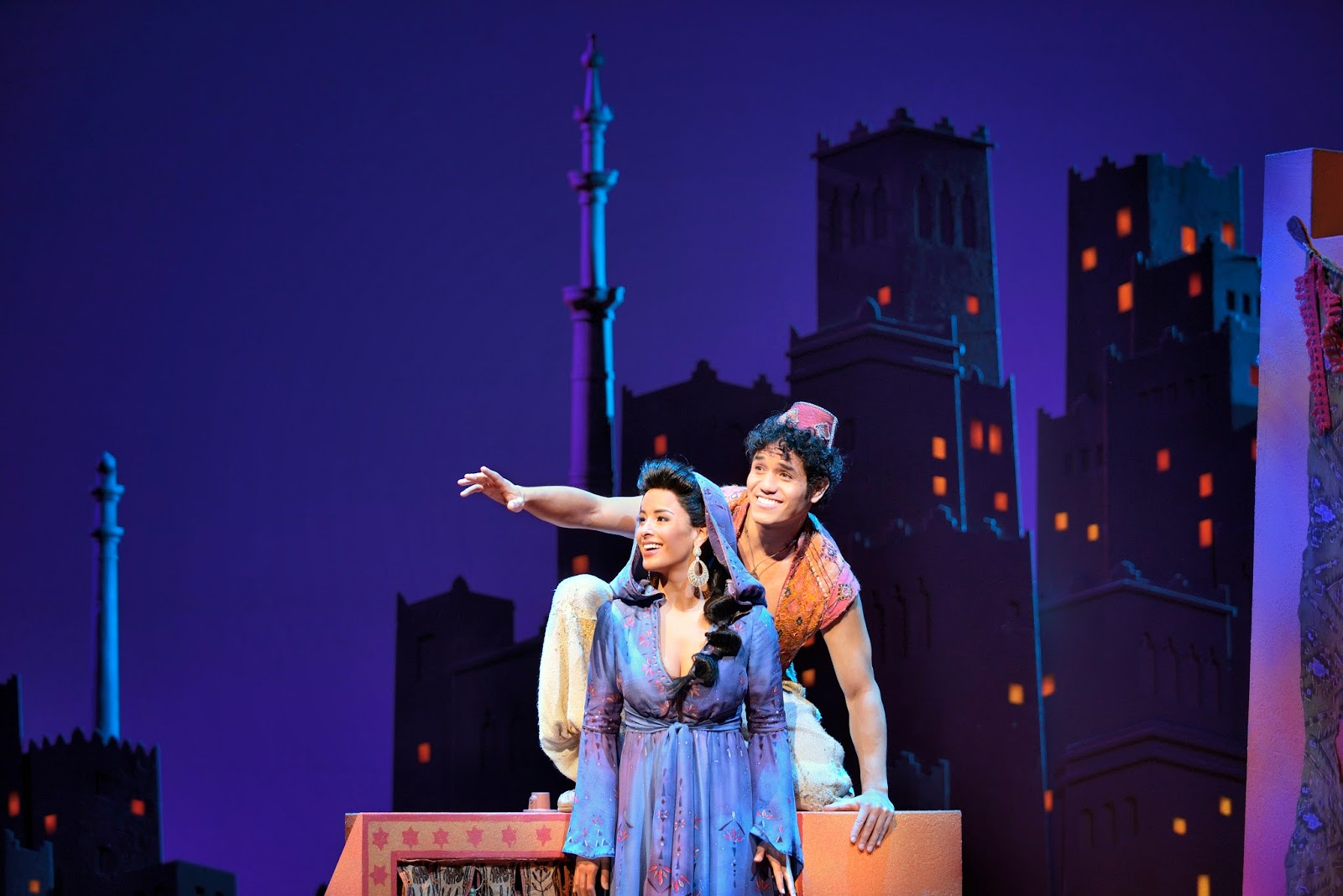 Aladdin musical october 2014 for The broadway
