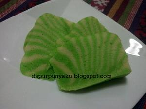 Resep Bolu Kukus Zebra Pandan - Welcome to my kitchen
