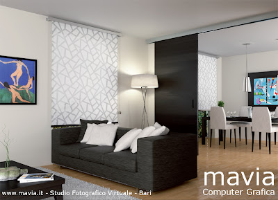 Arredamento di interni interni 3d rendering in cinema 4d for Modelli 3d arredamento