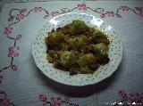 Receta de alcachofas con jamón en salsa