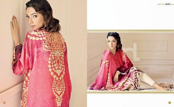 NishatLinenSummer2014VOL 3 wwwfashionhuntworldblogspot 6  - Nishat-Linen Eid Collection 2014-2015