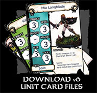Download Unit Card Templates
