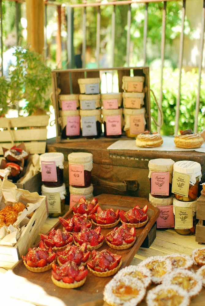 The Grounds Alexandria Food Markets Desserts Tarts Jams
