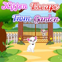 PinkyGirlGames Kitten Escape From Garden