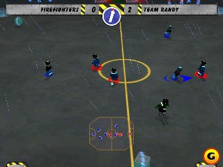 Free GAME Lego Soccer Mania