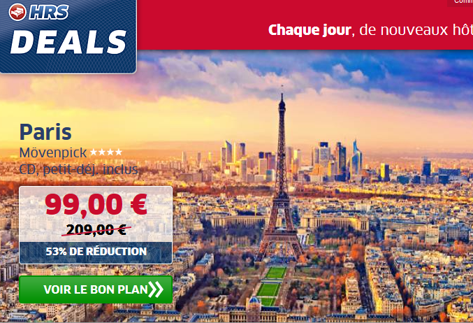HRS Deals Paris