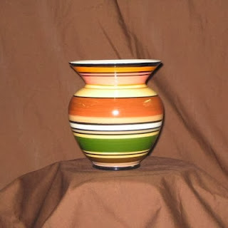 Order a Harvest Stripes Vase