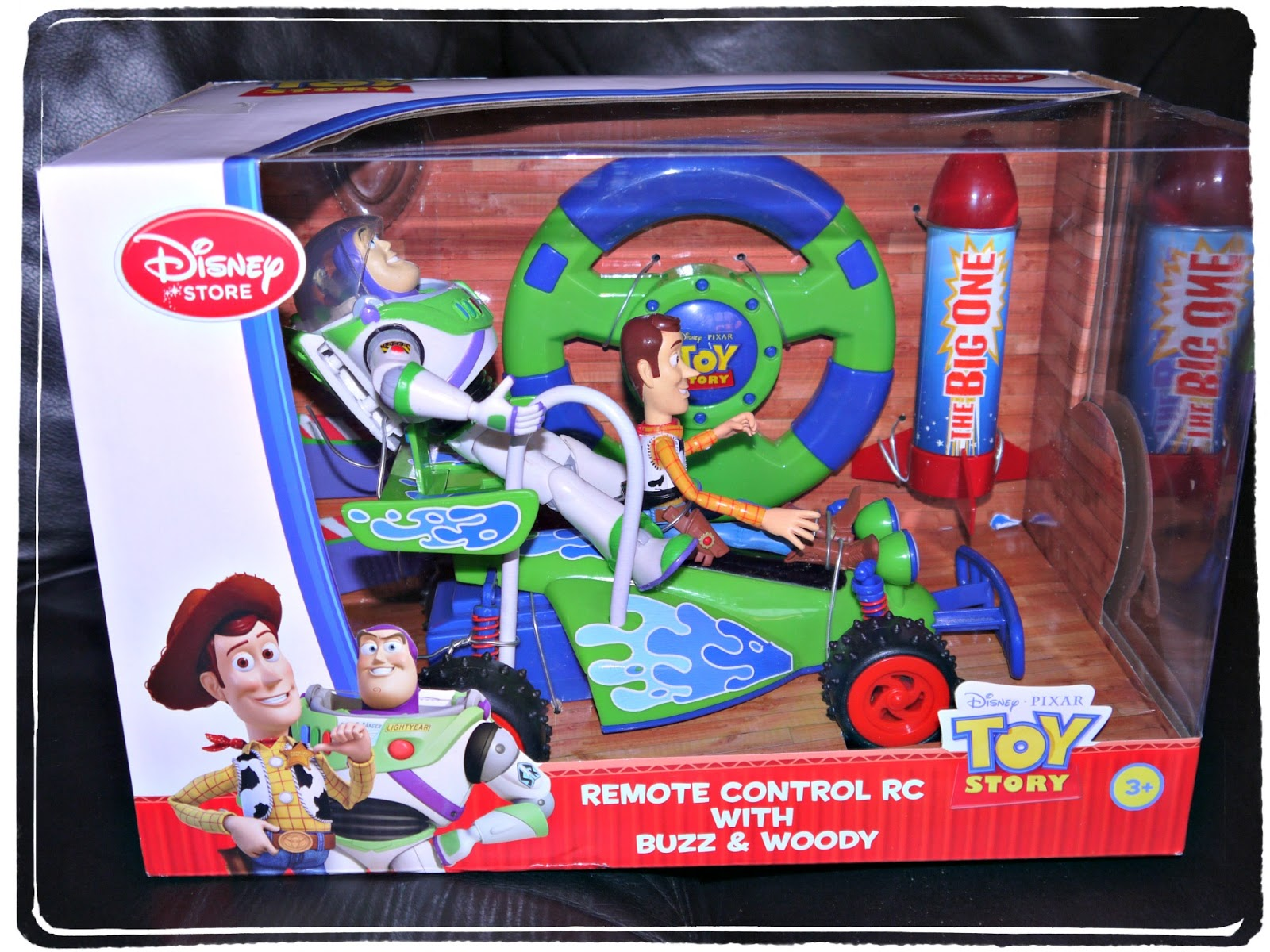 Remote Control Rc With Buzz And Woody It Is Completely