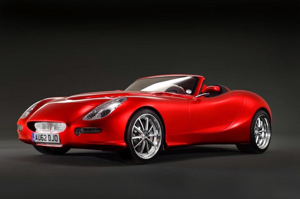 Gambar Mobil Sport Tercepat di Dunia Trident Iceni Warna Merah