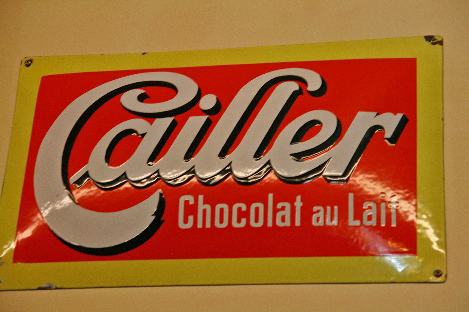 Journal of Life: Day 5 - Maison Cailler Chocolate Factory