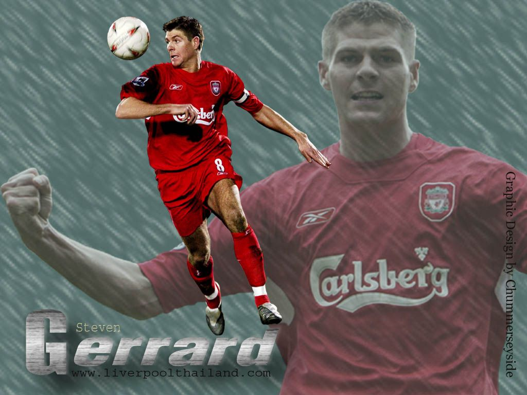 steven gerrard bio and pictures and wallpapers