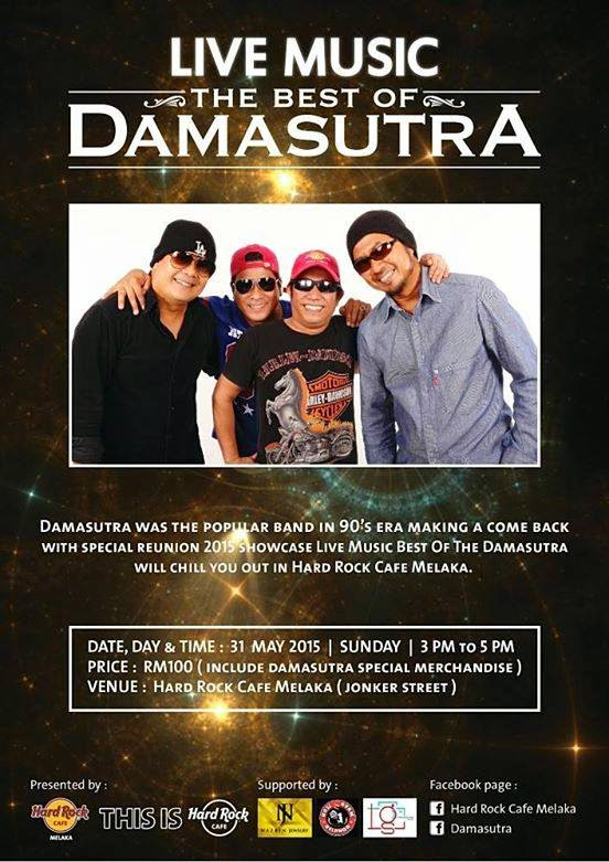 Event Damasutra Live Music 2015