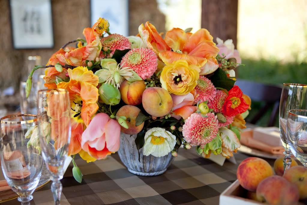 Wedding Design Decor Horse stable peaches