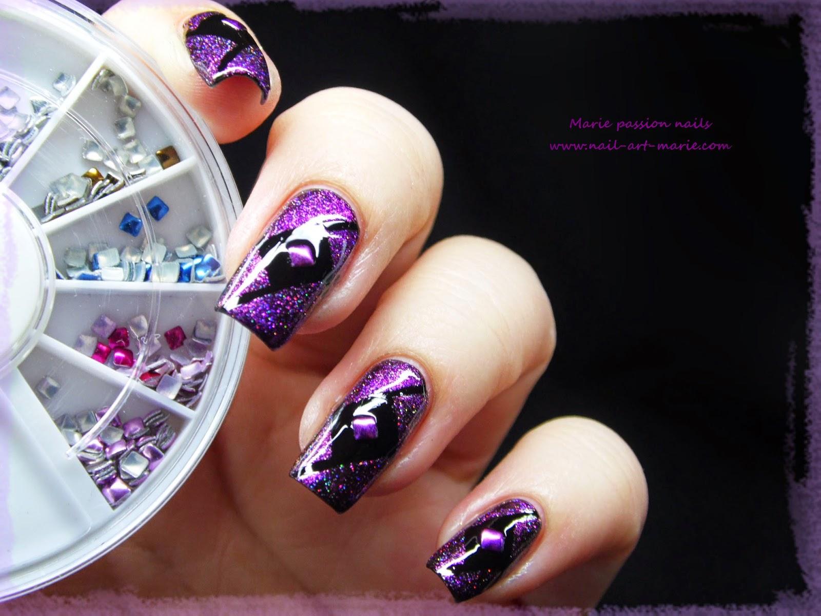 Nail Art Studs Géométrique6