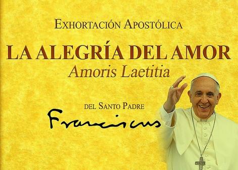 EXHORTACIÓN APOSTÓLICA POSTSINODAL AMORIS LAETITIA,PARA LEER, DALE CLICK A LA FOTO