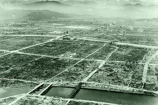 Hiroshima vista aérea