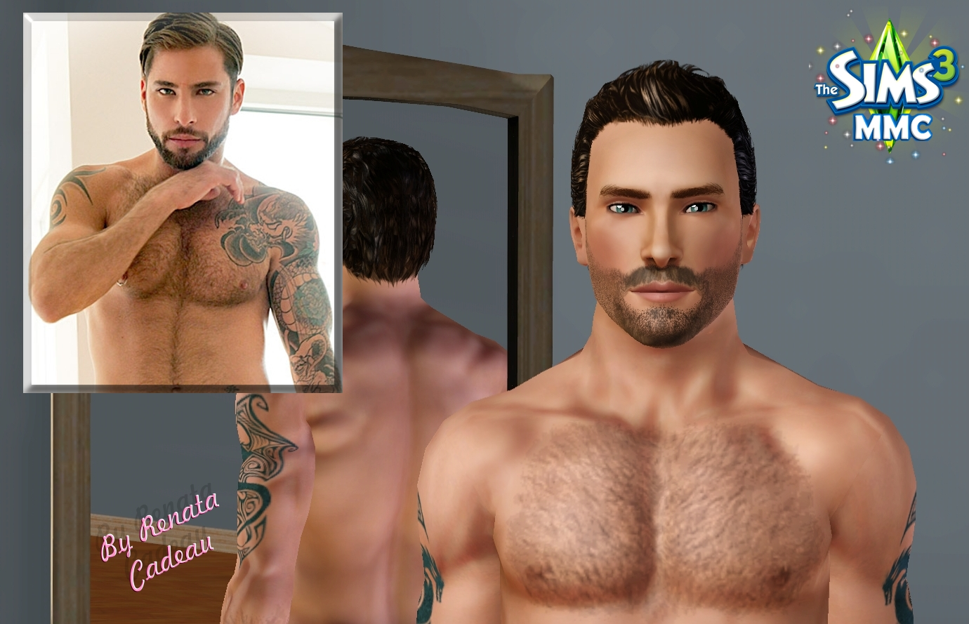 Sims adult male xxx erotica photo