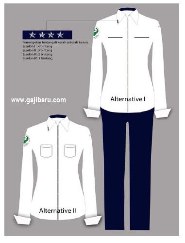 Pakaian Dinas Pns model baju dinas pns
