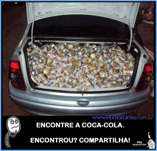 Encontre a Coca Cola no Facebook