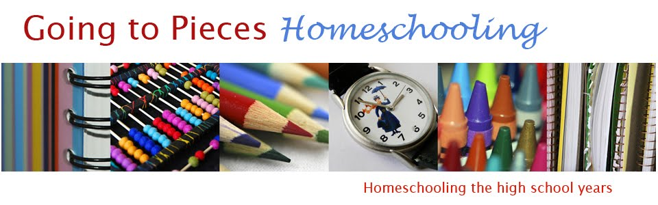 Going to Pieces - Homeschooling