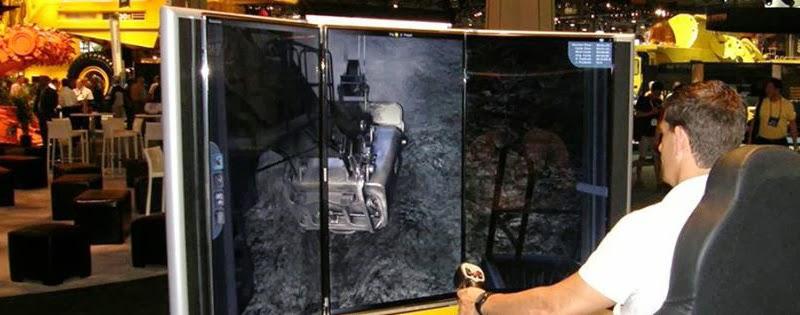 Electric Rope Shovel Training Simulator