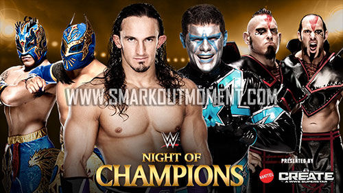 WWE Night of Champions 2015 PPV Pre-Show Kickoff Match