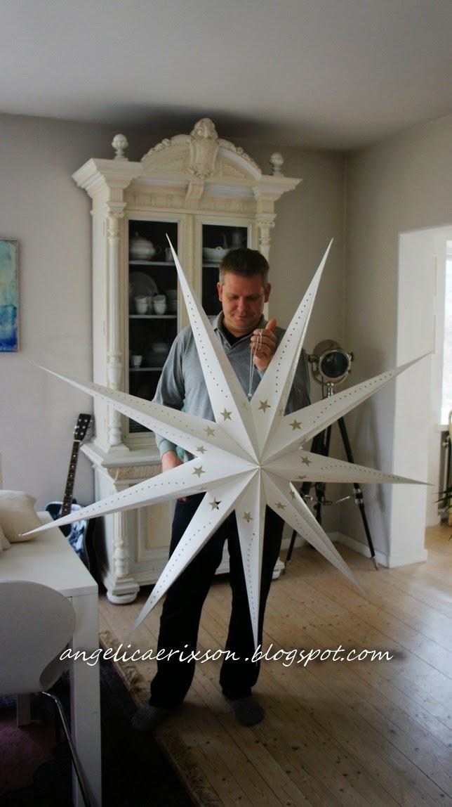 julstjärna stor 150 cm