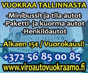 Edulliset autovuokraukset Tallinnasta