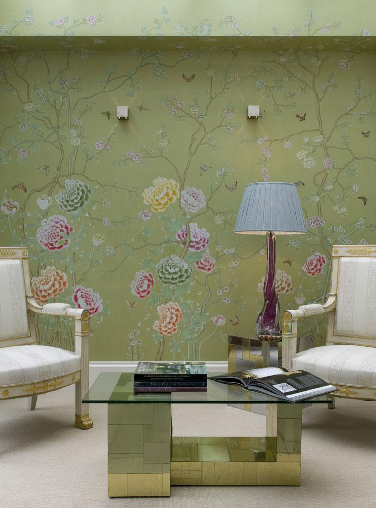 Habitaci n verdeagua papel pintado u obra de arte for Papel pintado tenerife
