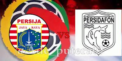 Persija Jakarta vs Persidafon Dafonsoro