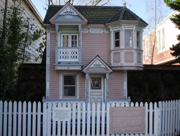 شاهد صور غريبة لاصغر منازل موجودة فى العالم