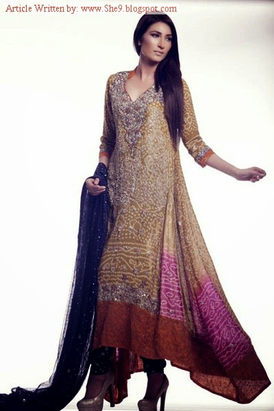 Ayesha Somaya Bridal Winter Collection 2014-2015