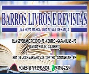O MAIOR ACERVO DE LIVROS E REVISTAS DO INTERIOR DE PERNAMBUCO