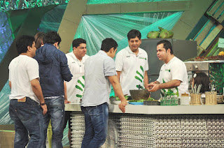 Amir Khan and Priyanka Chopra at NDTV Greenathon 2012