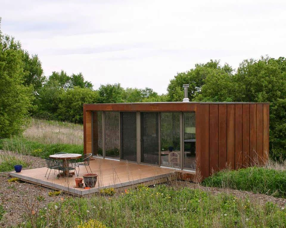 Cabin Is Like Container Minimalist House Design With