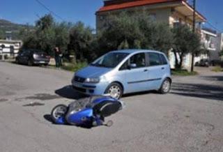 Ναύπακτος: τροχαίο με οδηγό δικύκλου