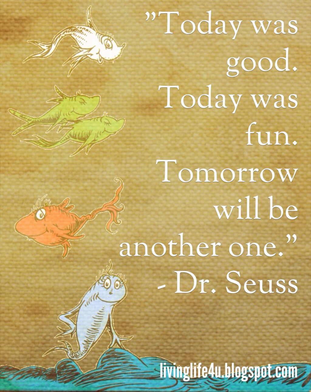 Dr. Seuss Quotes   Day 6