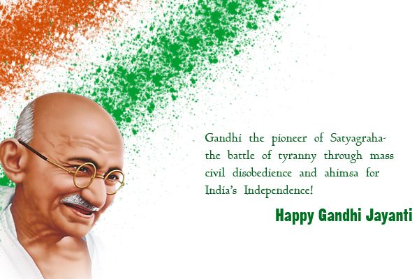 Gandhi jayanti 2015 Quotes,SMS,Wishes,Speech,Essay,FB/Whatsapp Status