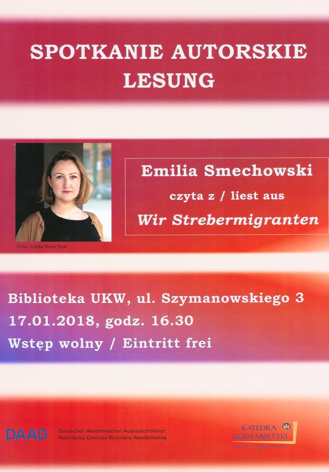 Spotkanie autorskie z Emilią Smechowski
