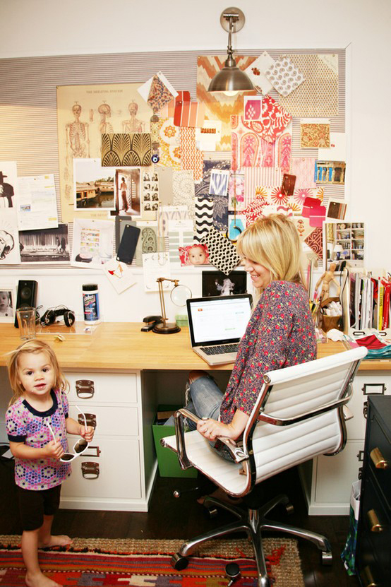 The Peak of Trs Chic Its Time for a Home Office